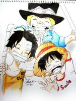 The Three Brothers by Meroty