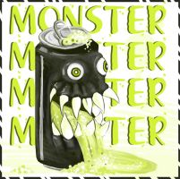 Monster Energy by Roaben