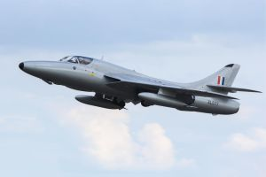 Hawker Hunter T.7 by Daniel-Wales-Images