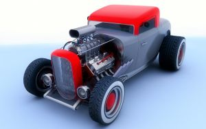 1932 Ford by SamCurry