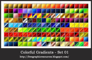 Colorful gradients by hhnalin