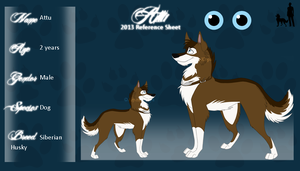 Attu Reference Sheet 2013 by Aiyana-Kopa