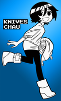 Knives Chau by chaosxivk