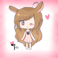 at -- pinkbunnii by susifii