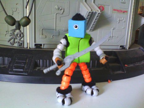 Orion 5 figure by RDH38