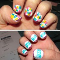 We Are The In Crowd - Guaranteed To Disagree Nails by iluvtssatl