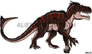 Jurassic World: Arlix by Alien-Psychopath