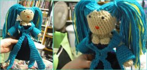 Sona League of Legends Crochet by giraffesonparades