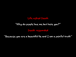 Life and Death by AshofaBlackRose