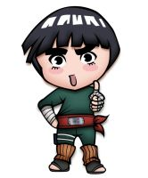 Rock Lee Chibi by SuGaR-AdDIKt