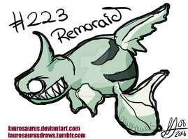 A year of pokemon: #223 Remoraid