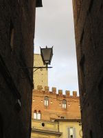 Narrow Siena Street by ShipperTrish