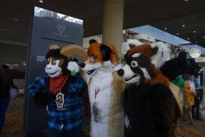 furries!!!!! at Otakon 2013 by grell123