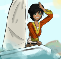 Cora Sail's the Greek Isles by NotoriousDogfight