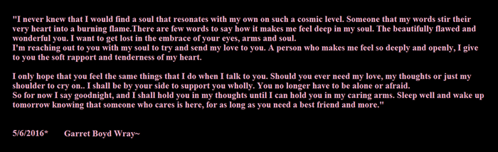 first poem for Emily by ShadowFox420