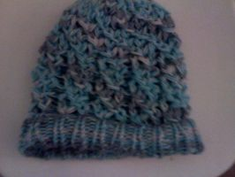 Ice Loom-Knit Hat by TohruHonda26