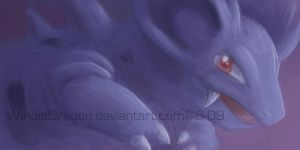 OC speedpaint- Nidorina by WindieDragon