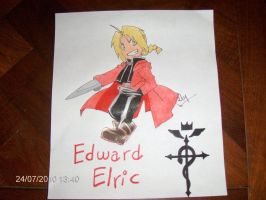 Edward Elric Chibi by Very-Mary-Bell