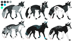 ADOPTABLES .:OPEN:. Batch 8 by Mireille-Adopts