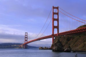 Golden Gate Bridge by KMourzenko