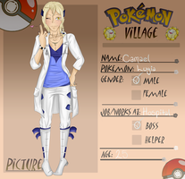 Poke-Village Application: Camael (Revamp) by MelodicSoul