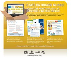 Extranet Redesign ad - Tricard by Adhago