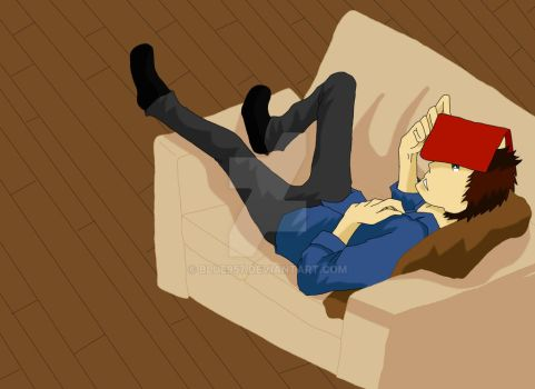 Mitch napping by blue957