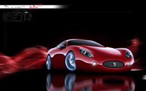 Jaguar E-Type 2010 Concept by Maettoe