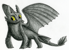 Hello Toothless by CavySpirit
