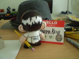 Munny: Harima -back- by ScarecrowArtist