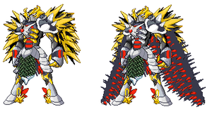 Sprite mix:Ares by Esepibe