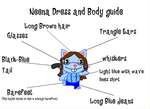 HTF - Neena Dress and Body Guide by HTFMegaman