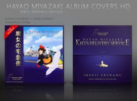 Kiki's Delivery Service Album Covers HD by shinobireverse