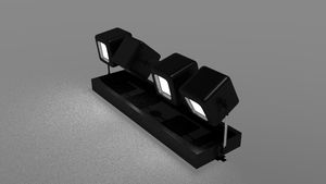 Cubic Desk Lights (bright version) by Apple303