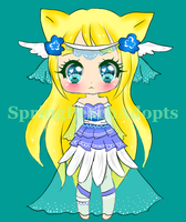KittyAngel Adopt 01 (auction) - CLOSED by SpringPeachAdopts