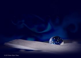 blue drop star by dini25
