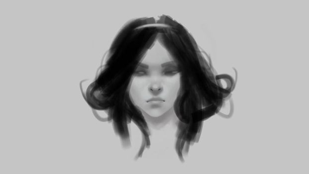 Some more face practise by YumeTatsu