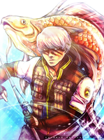 Yu The Epic Fisher by CaimRyo
