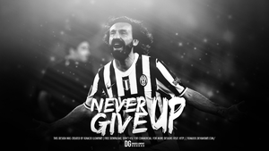 Never Give Up - Pirlo Wallpaper by ignaxxx