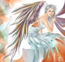 Holiday Angel by JenZee