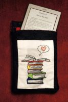 Kindle Cover Front by VickitoriaEmbroidery