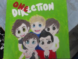 One Direction painting by StarsForLife