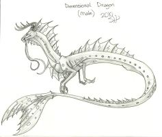 Dimensional Dragon M Concept by AshasCadence