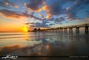 Naples-Florida-Sunset-at-The-Naples-Pier by CaptainKimo