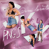 PNG PACK (161) Demi Lovato by DenizBas