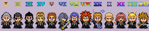 Chibified Organization XIII by FnrrfYgmSchnish