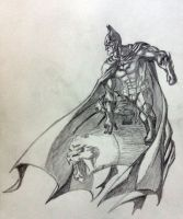 Batman Gargoyle by jay911sf