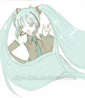 Miku-san by Eilyn-Chan
