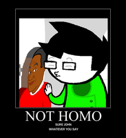 Not Homo by CloudedRain1331