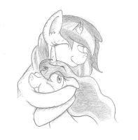 Quick Sketch Request: Free Hugs by Smashedatoms